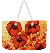 Poppin Poppies #2 Weekender Tote Bag
