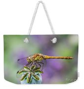 Poppy And The Dragonfly Weekender Tote Bag
