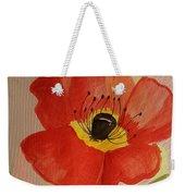 Poppy Art 17-01 Weekender Tote Bag