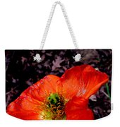 Poppy At Dusk Weekender Tote Bag