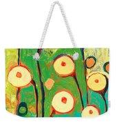 Poppy Celebration Weekender Tote Bag by Jennifer Lommers