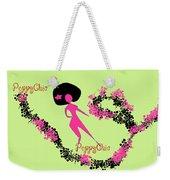 Poppy Chic Dance Weekender Tote Bag