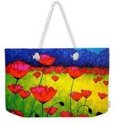 Poppy Cluster Weekender Tote Bag