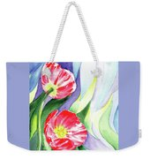 Poppy Couple Gentle Wind Weekender Tote Bag