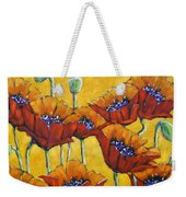Poppy Craze By Prankearts Weekender Tote Bag