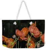 Poppy Drama Weekender Tote Bag