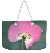 Poppy Fan Weekender Tote Bag