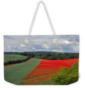 Poppy Field Weekender Tote Bag