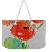 Poppy Flowers 1 Weekender Tote Bag
