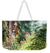 Poppy Garden Landscape Weekender Tote Bag