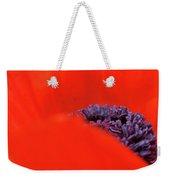 Poppy Heart I Weekender Tote Bag