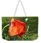 Red Poppy II Weekender Tote Bag