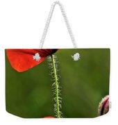 Poppy Image Weekender Tote Bag