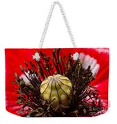 10092 Poppy Love #01 Weekender Tote Bag