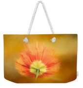 Poppy On Fire Weekender Tote Bag