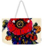 Poppy Passion Weekender Tote Bag