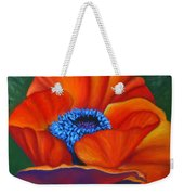 Poppy Pleasure Weekender Tote Bag