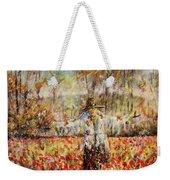Poppy Scarecrow Weekender Tote Bag