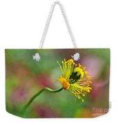 Poppy Seed Capsule Weekender Tote Bag by Kaye Menner