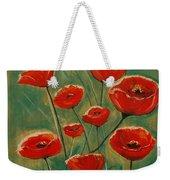 Poppy Surprise Weekender Tote Bag