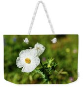 Poppy Wildflower Weekender Tote Bag