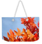 Popular Autumn Art Red Orange Fall Tree Nature Baslee Troutman Weekender Tote Bag