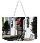 Porch At Boone Hall Plantation Charleston Sc Weekender Tote Bag