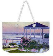Porch At Sunet Weekender Tote Bag