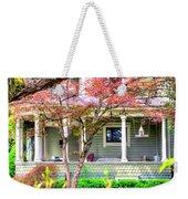 Porch Birdhouse Weekender Tote Bag