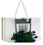 Porch Flowers Weekender Tote Bag