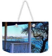 Porch View In Annisquam Weekender Tote Bag