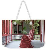 Porch With Rocking Chairs Weekender Tote Bag