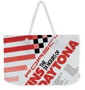 Porsche 24 Hours Of Daytona Wins Weekender Tote Bag