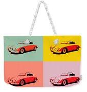 Porsche 356 Pop Art Panels Weekender Tote Bag