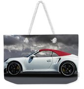 Porsche 911 Turbo S With Clouds Weekender Tote Bag
