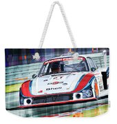 Porsche 935 Coupe Moby Dick Martini Racing Team Weekender Tote Bag