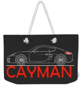 Porsche Cayman Phone Case Weekender Tote Bag