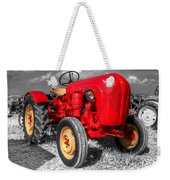 Porsche Tractor Weekender Tote Bag by Rob Hawkins