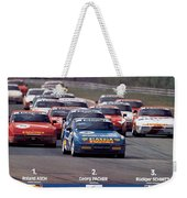 Porsche Turbo Cup 1988 Weekender Tote Bag