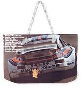 Porsche Vallelunga Vintage Racing Poster Weekender Tote Bag