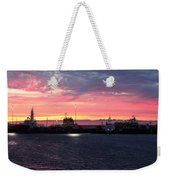 Port Angeles Harbor Thirteen Weekender Tote Bag
