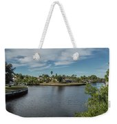 Port Charlotte Adhenry Waterway From Midway Weekender Tote Bag