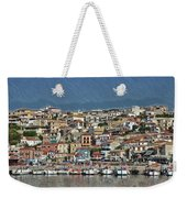 Port City Parga Greece - Dwp1163344 Weekender Tote Bag