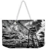 Port Crane Weekender Tote Bag