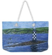 Port Glasgow, Perch Lighthouse Weekender Tote Bag