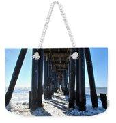 Port Hueneme Pier - Waves Weekender Tote Bag