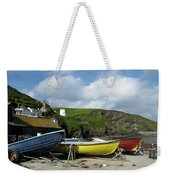 Port Isaac Boats Weekender Tote Bag
