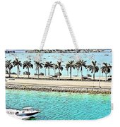 Port Of Miami - Miami, Florida Weekender Tote Bag