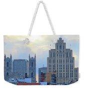 Port Of Montreal Skyline Weekender Tote Bag