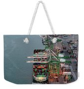 Port Of Oakland Aerial Photo Weekender Tote Bag